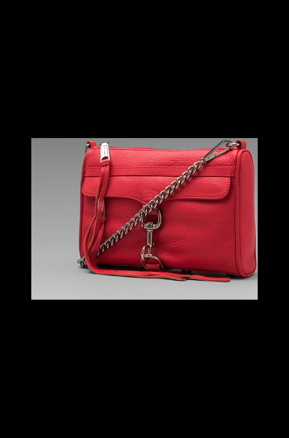 Rebecca Minkoff Mini MAC Clutch in Berry