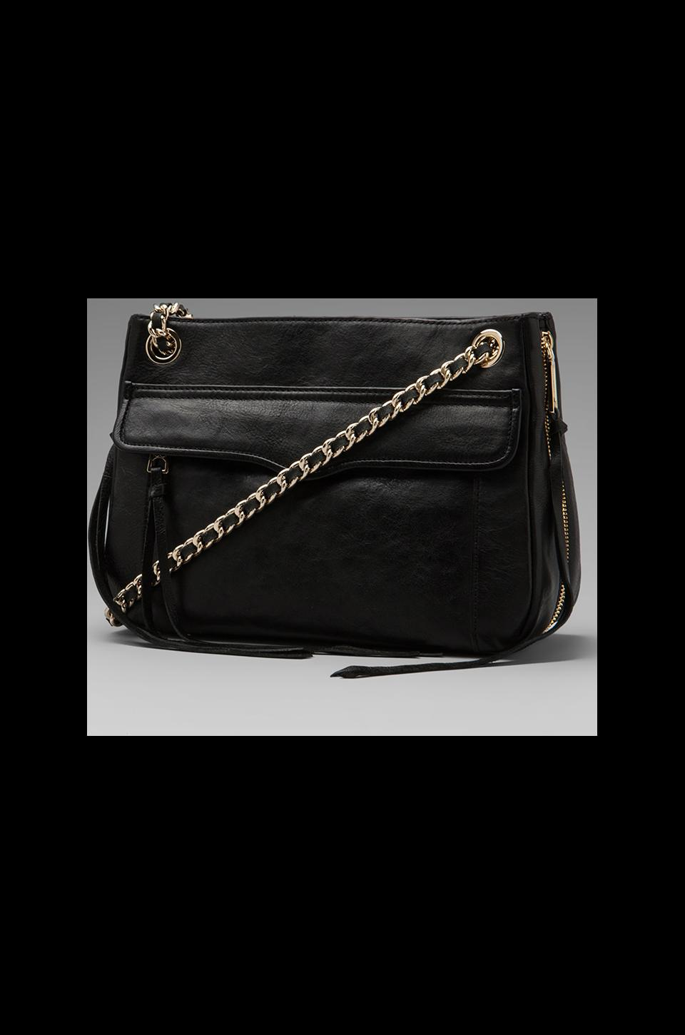 Rebecca Minkoff Swing Handbag in Black