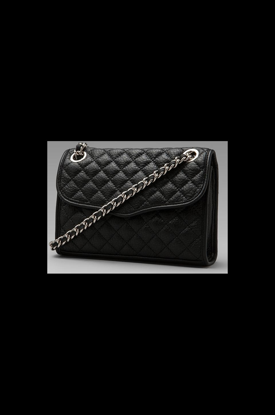 Rebecca Minkoff Diamond Quilt Mini Affair in Black