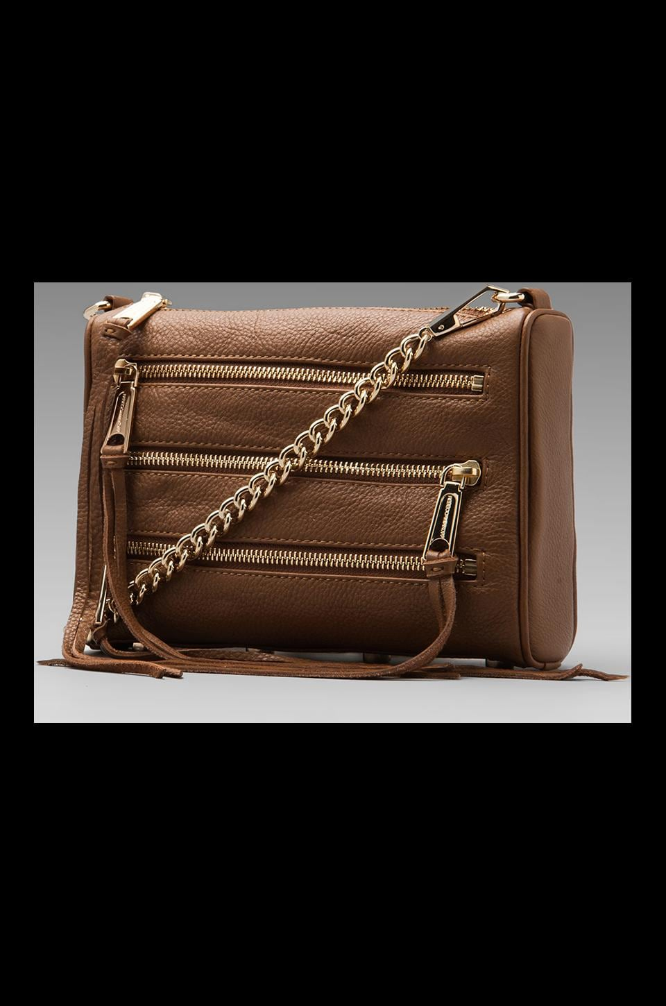 Rebecca Minkoff Mini 5 Zip Clutch in Fatigue