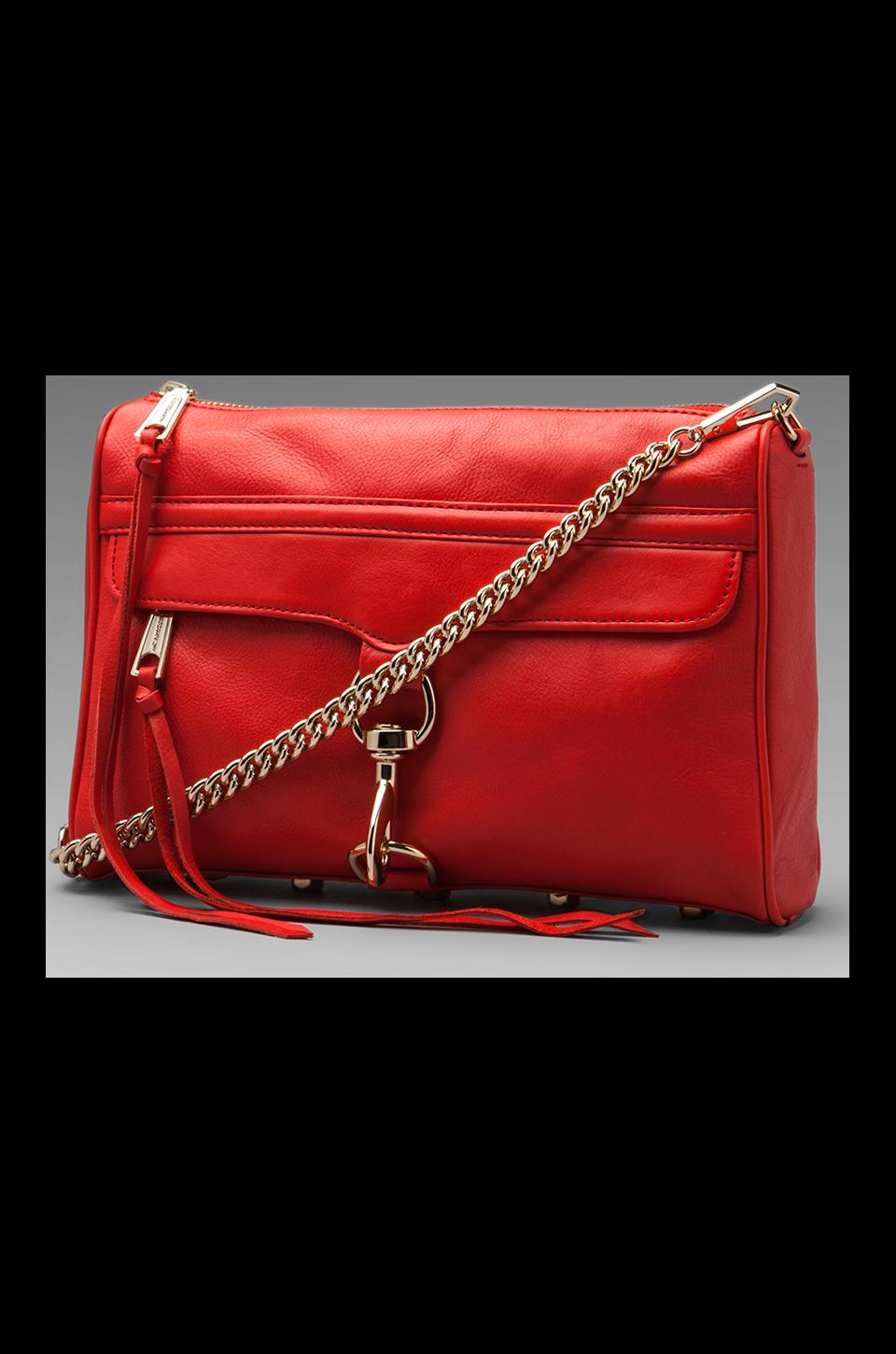 Rebecca Minkoff Mac Clutch in Fire Engine