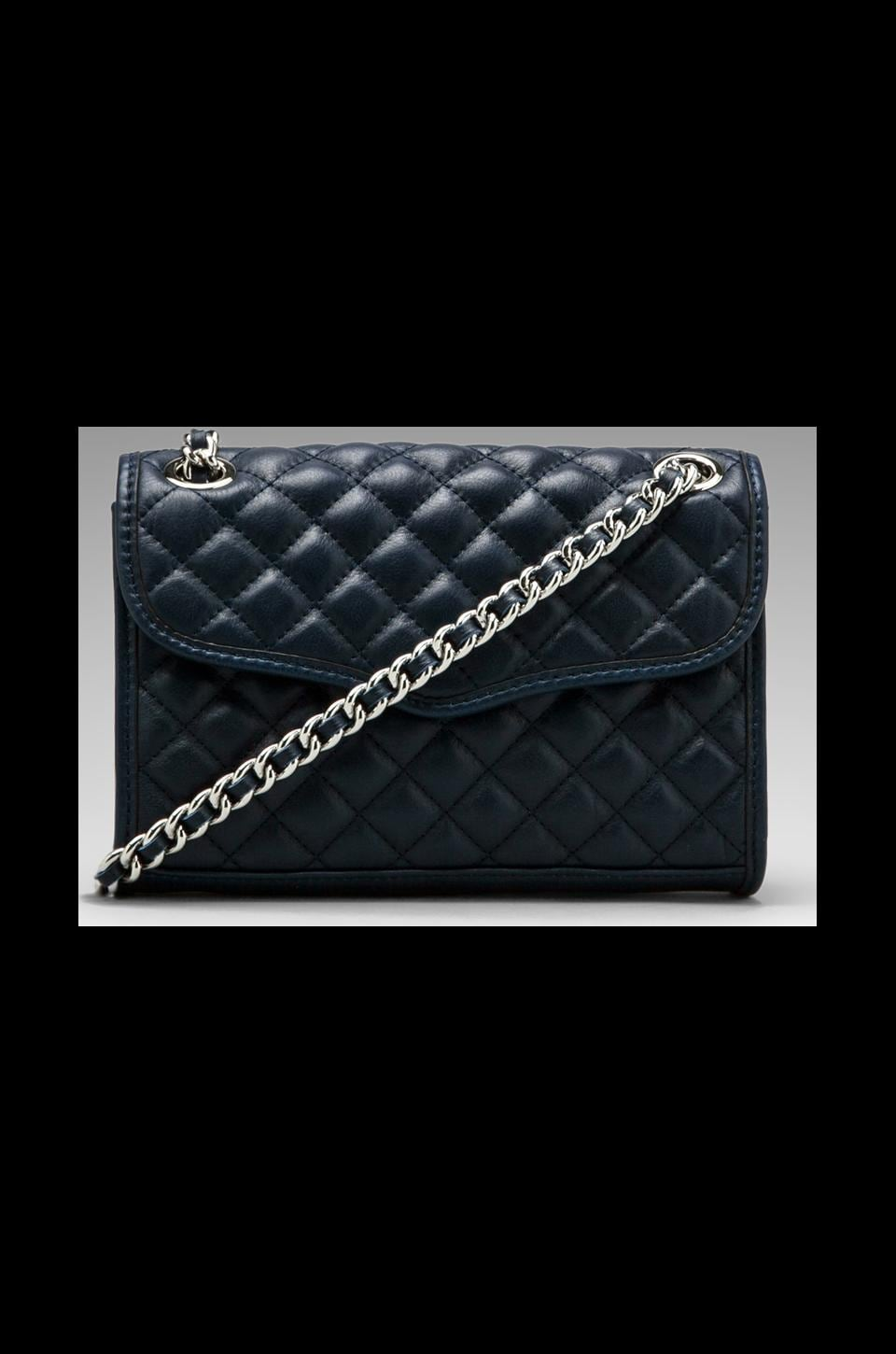 Rebecca Minkoff Mini Quilted Affair in Sapphire