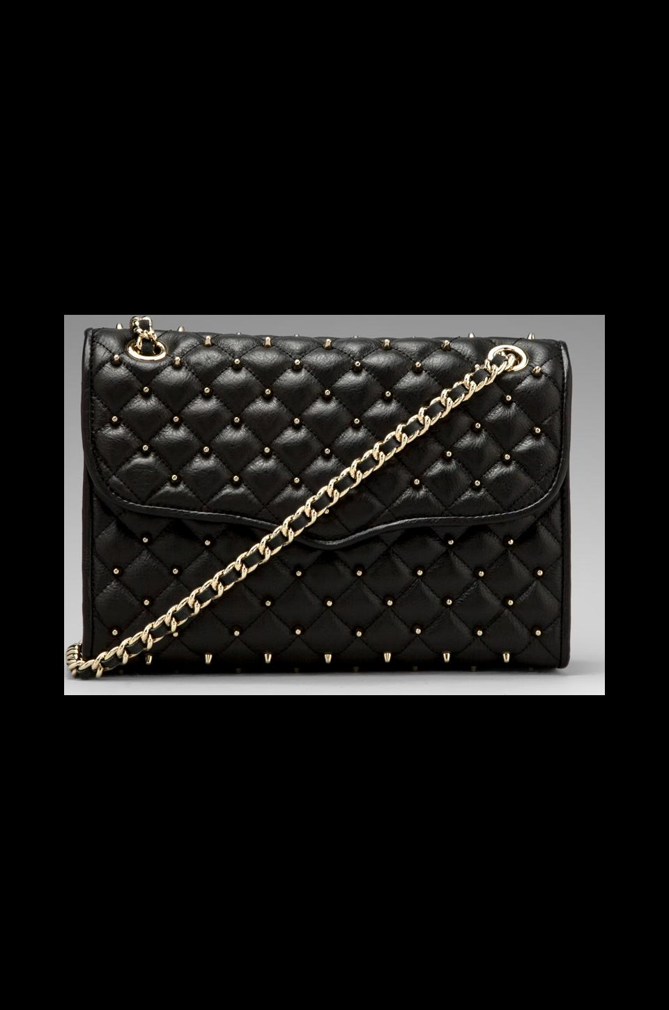 Rebecca Minkoff Quilted Affair with Studs en Noir
