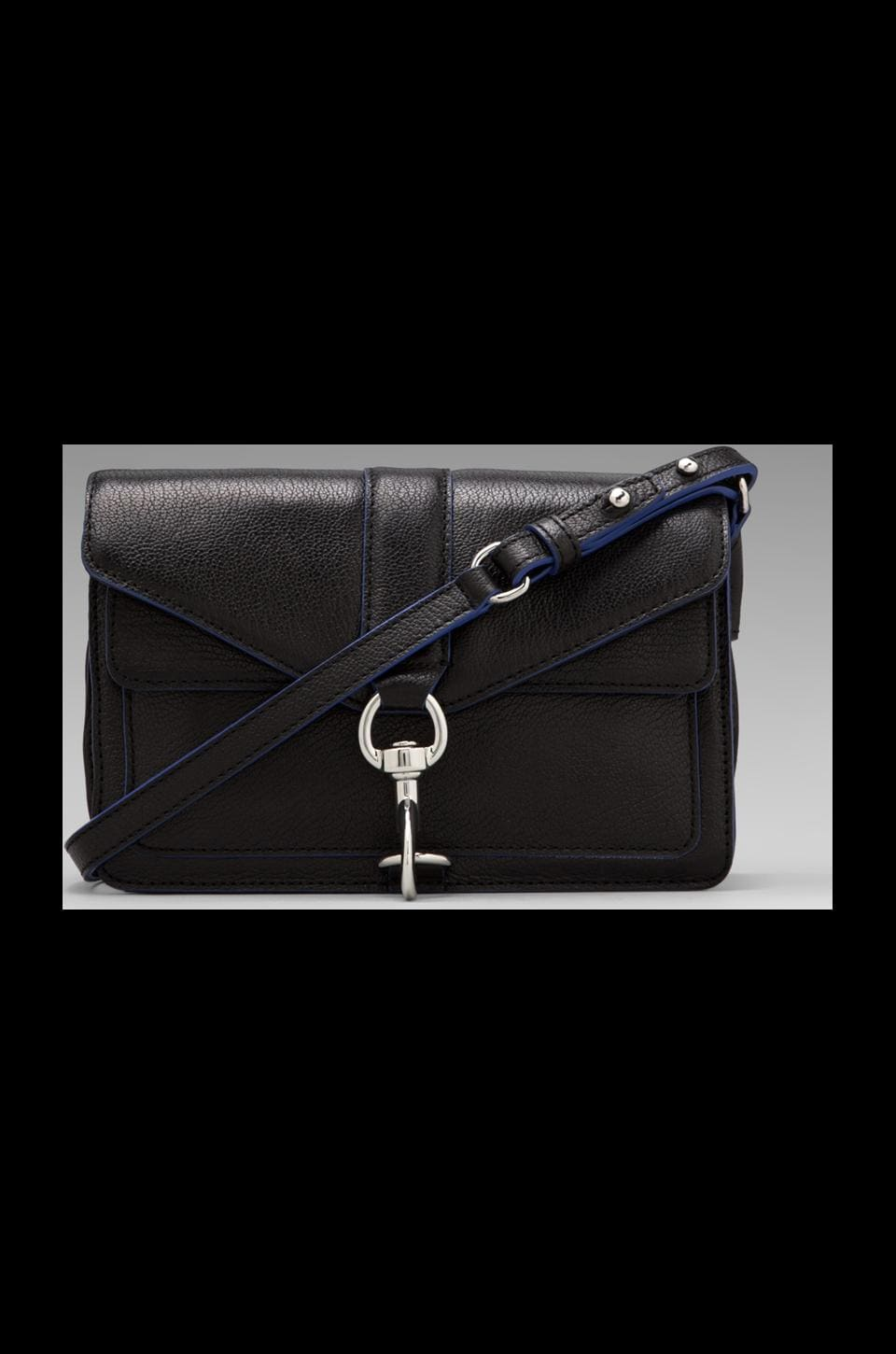 Rebecca Minkoff Hudson Moto Mini in Black