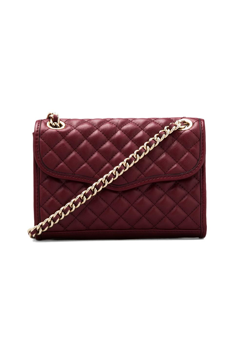 Rebecca Minkoff Mini Affair-Quilted in Port