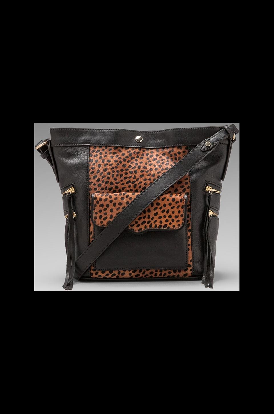Rebecca Minkoff Dexter Bucket in Tawny/Black