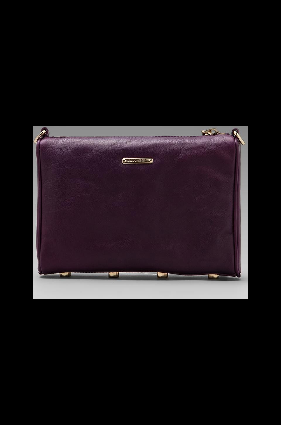 Rebecca Minkoff Mini 5 Zip Clutch in Plum