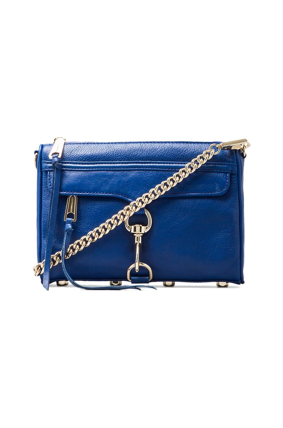 Rebecca Minkoff Mini Mac in Electric Blue