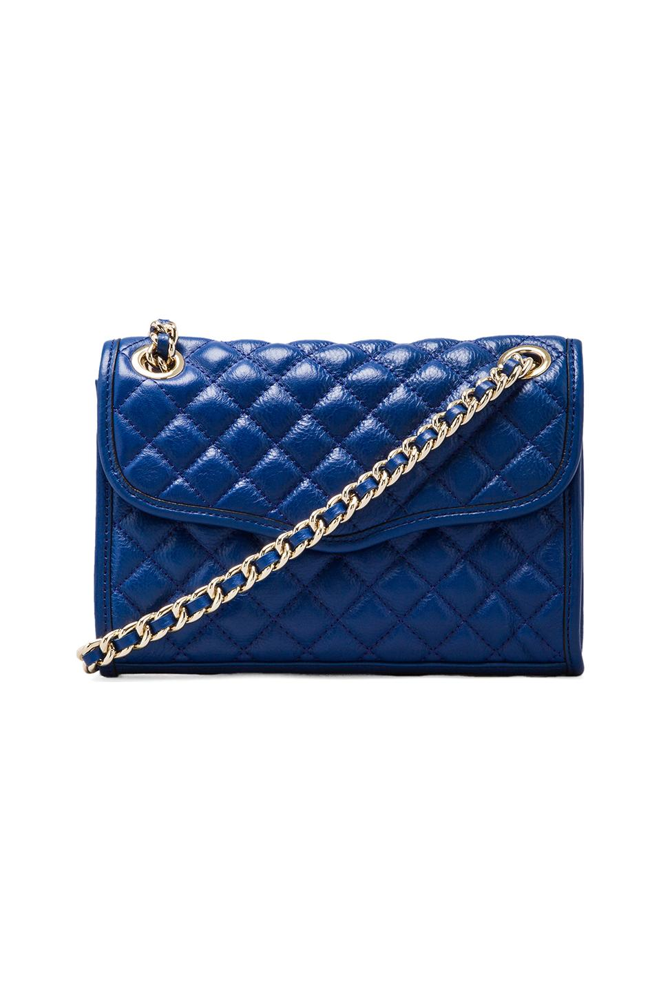 Rebecca Minkoff Mini Affair in Electric Blue