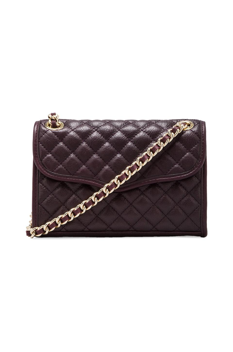 Rebecca Minkoff Mini Affair in Black Cherry