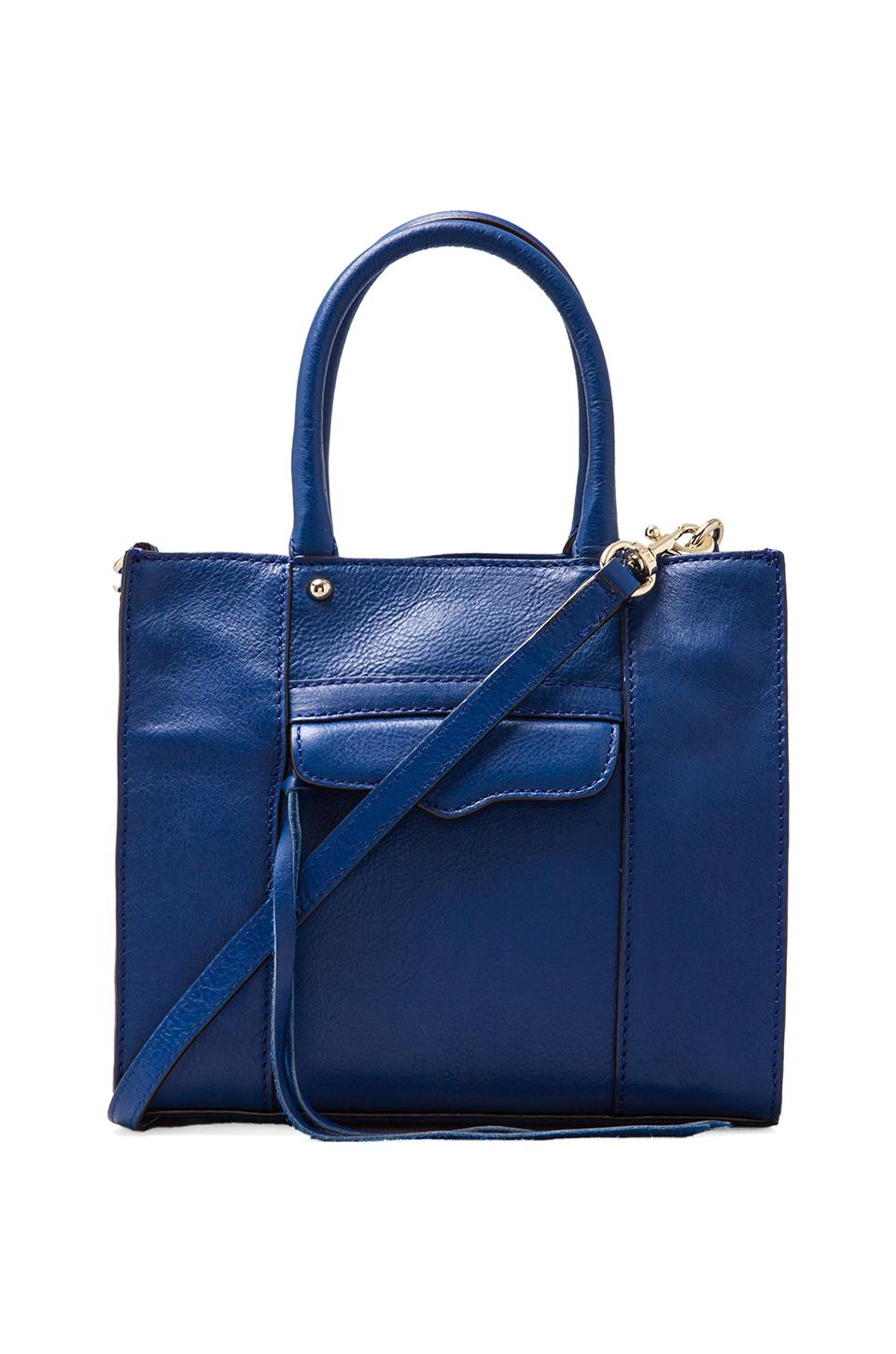 Rebecca Minkoff x REVOLVE Mab Tote Mini in Electric Blue
