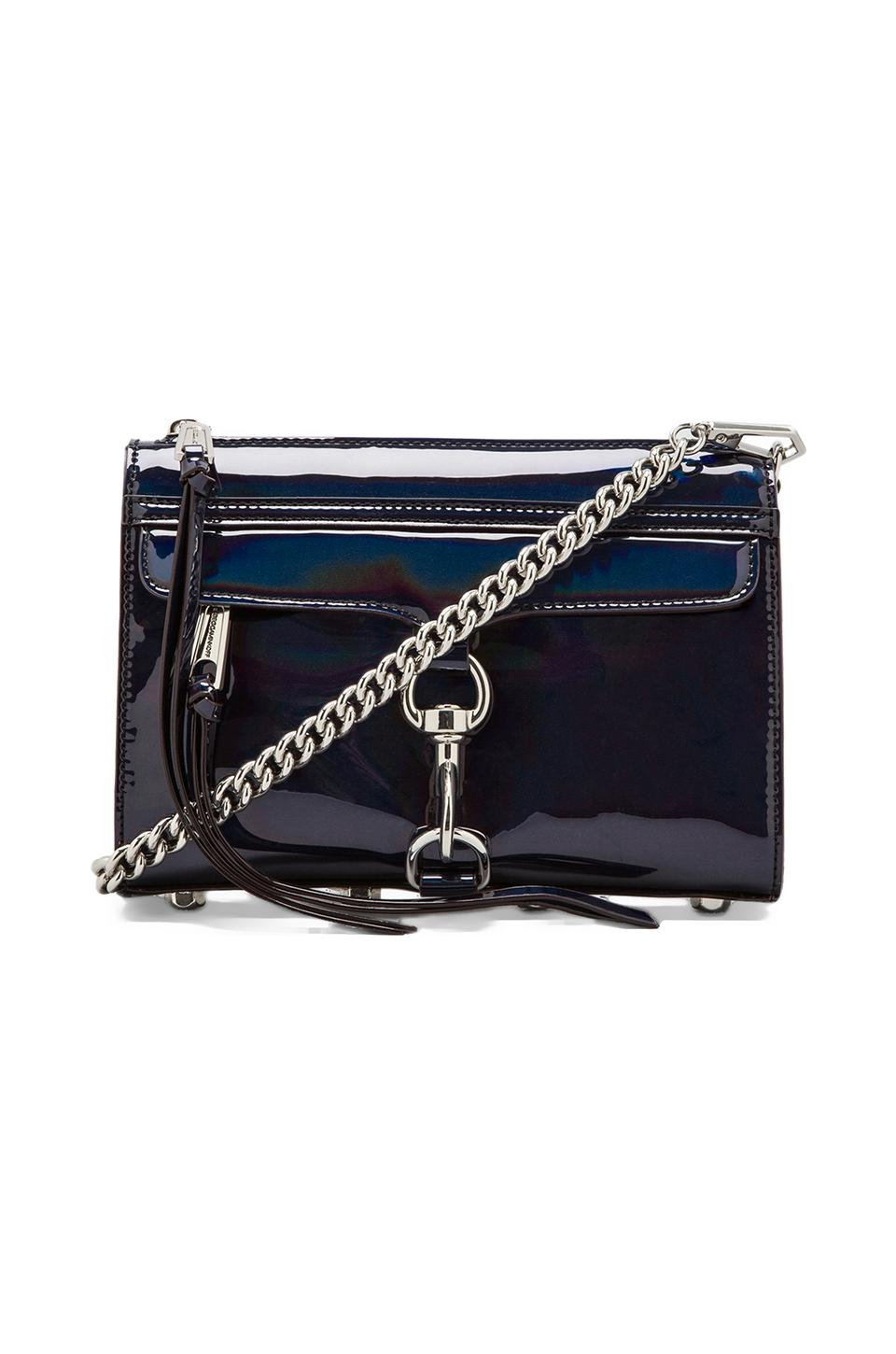 Rebecca Minkoff Hologram Mini Mac in Black
