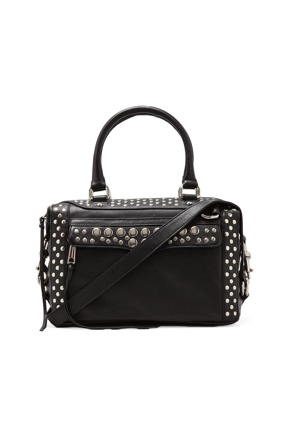 Rebecca Minkoff Studded Mab Mini in Black