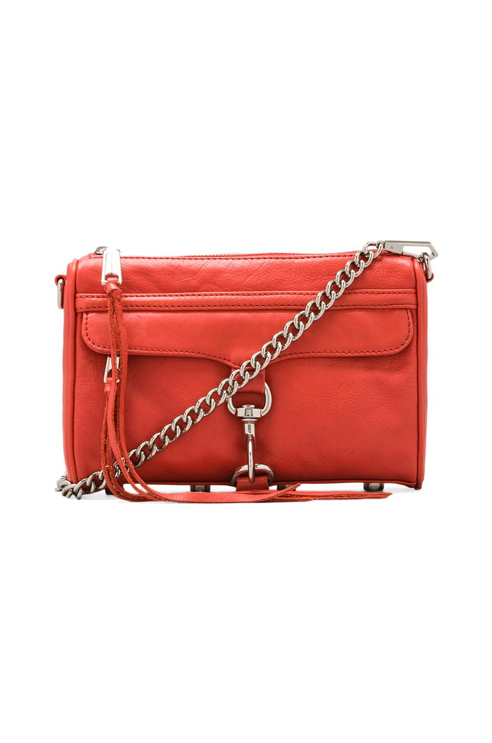 Rebecca Minkoff Mini Mac in Coral