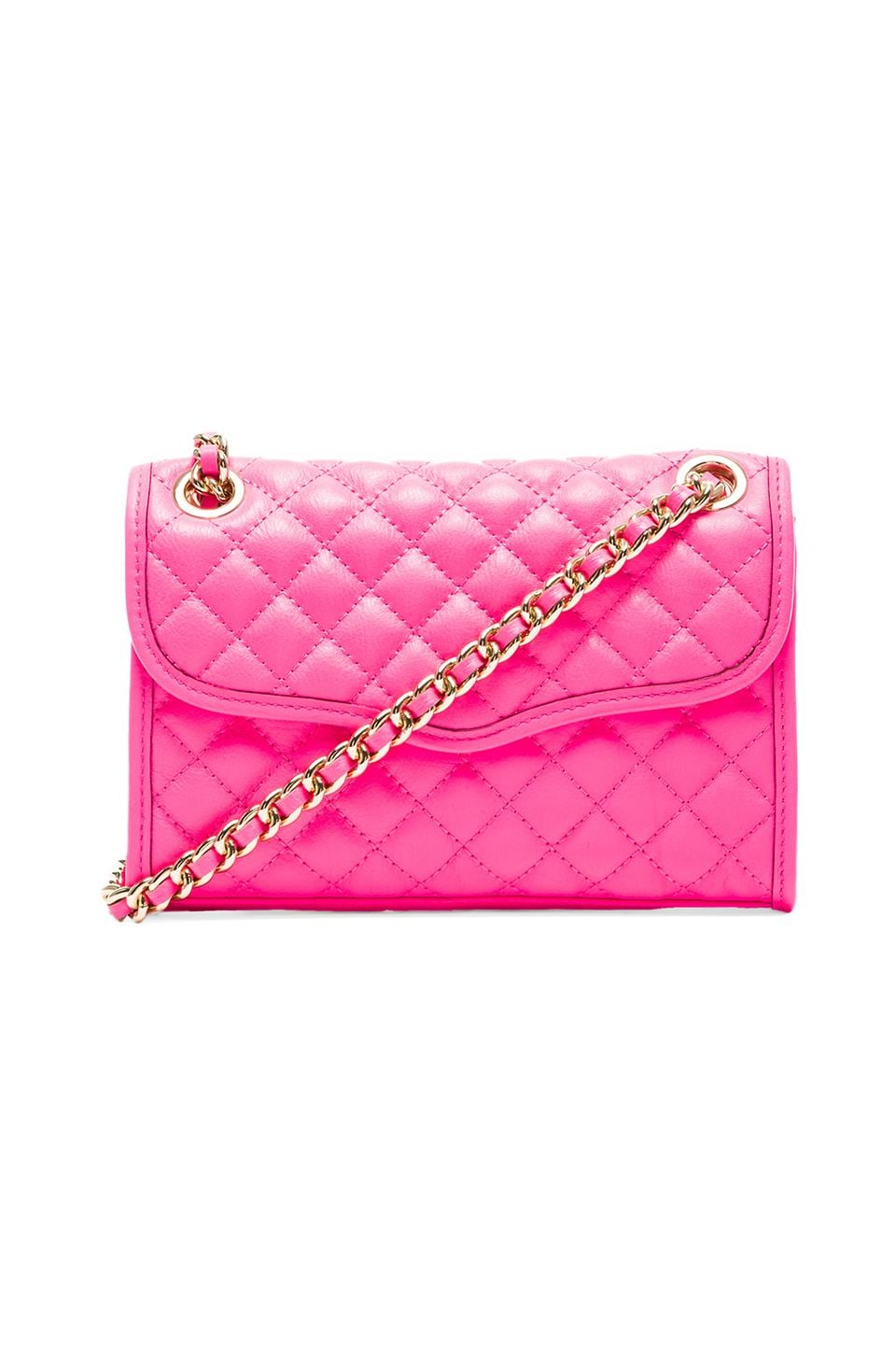 Rebecca Minkoff Mini Affair in Neon Pink