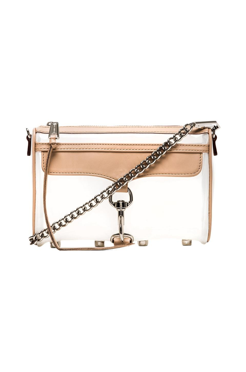 Rebecca Minkoff Mini MAC in Pearl