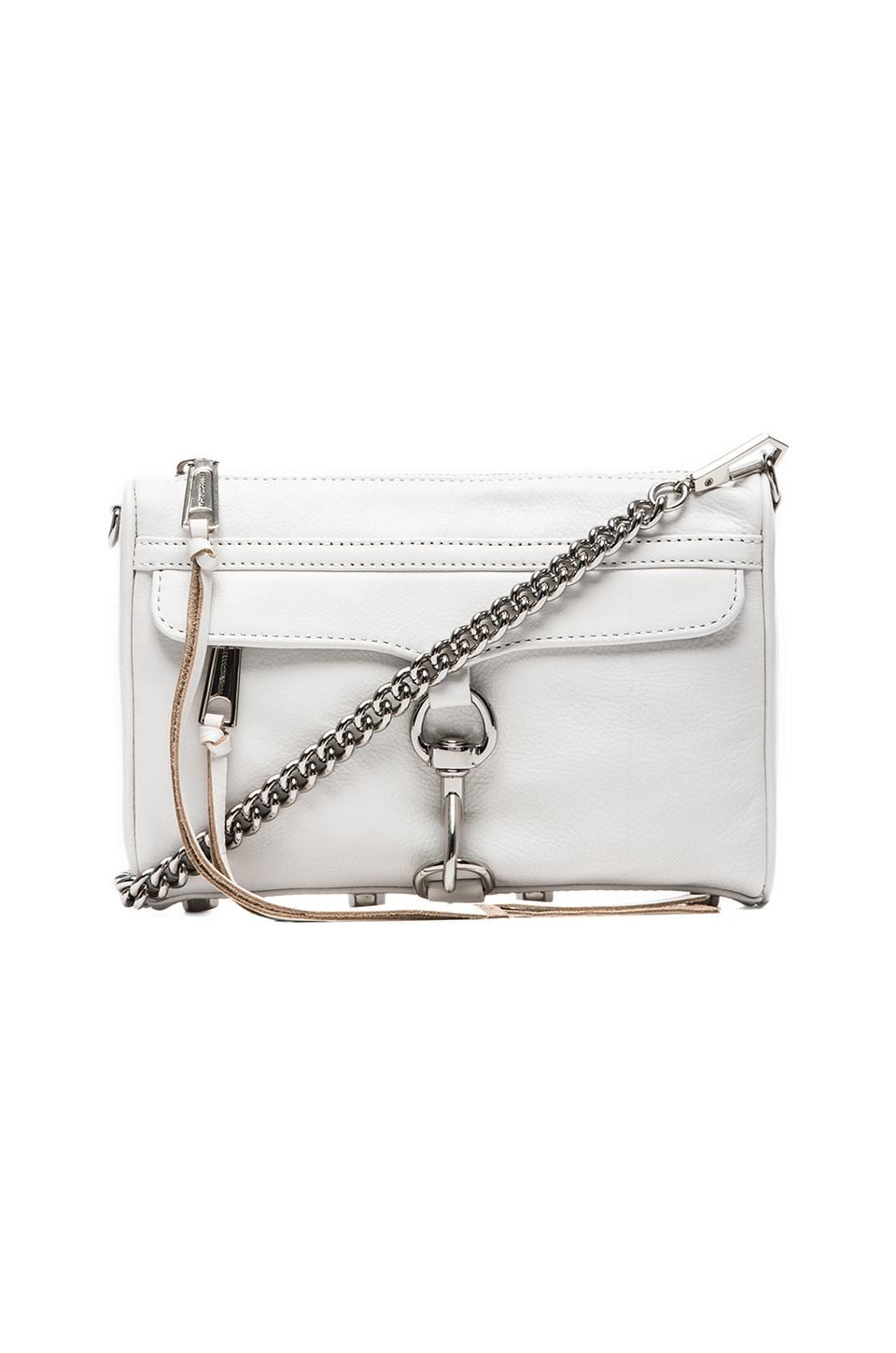 Rebecca Minkoff Mini MAC in White