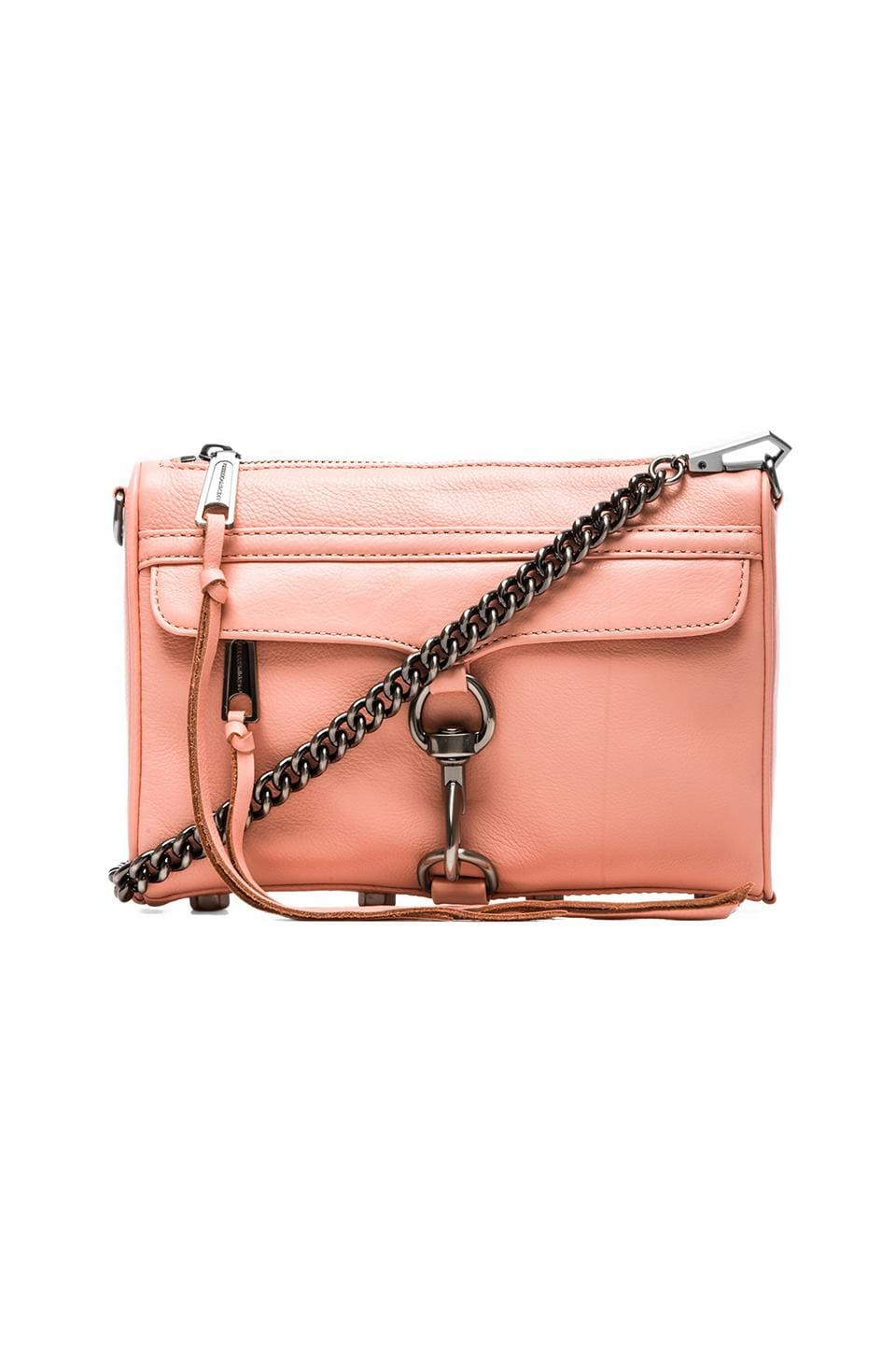 Rebecca Minkoff Mini MAC in Peach