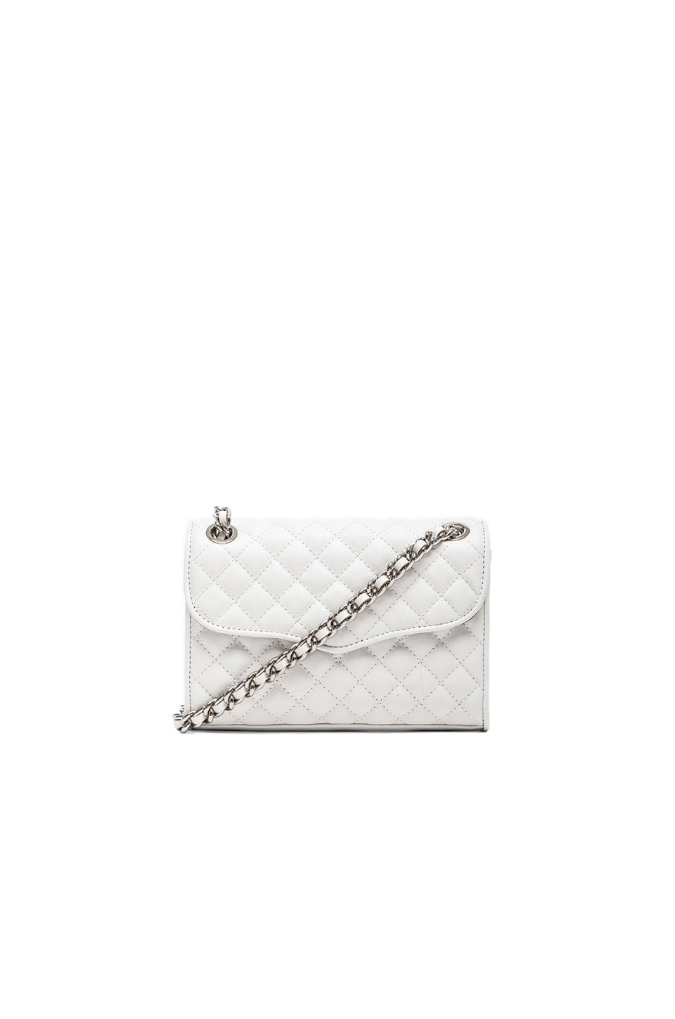 Rebecca Minkoff Quilted Mini Affair in White