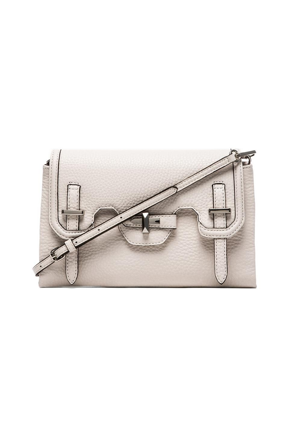 Rebecca Minkoff Mini Jules Clutch in White