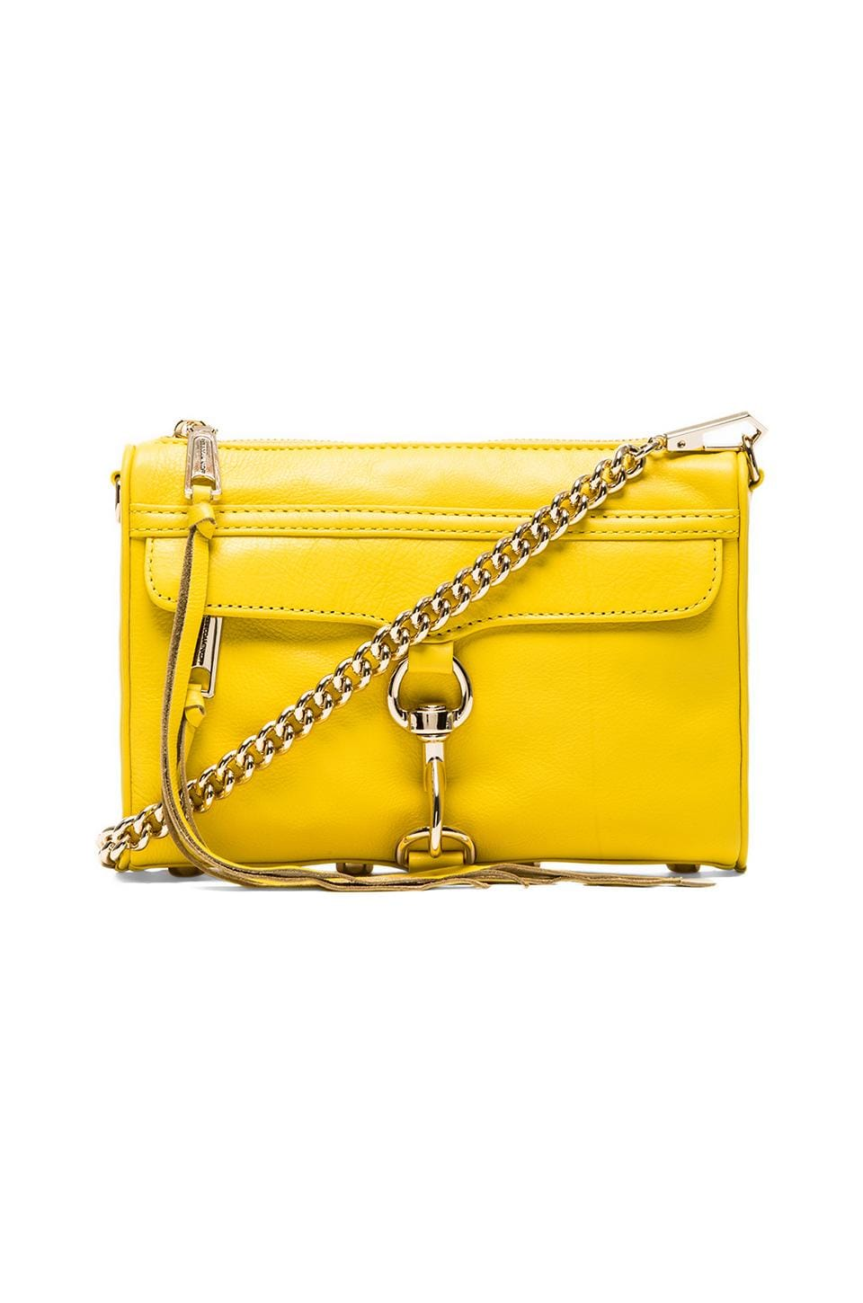 Rebecca Minkoff Mini MAC in Marigold