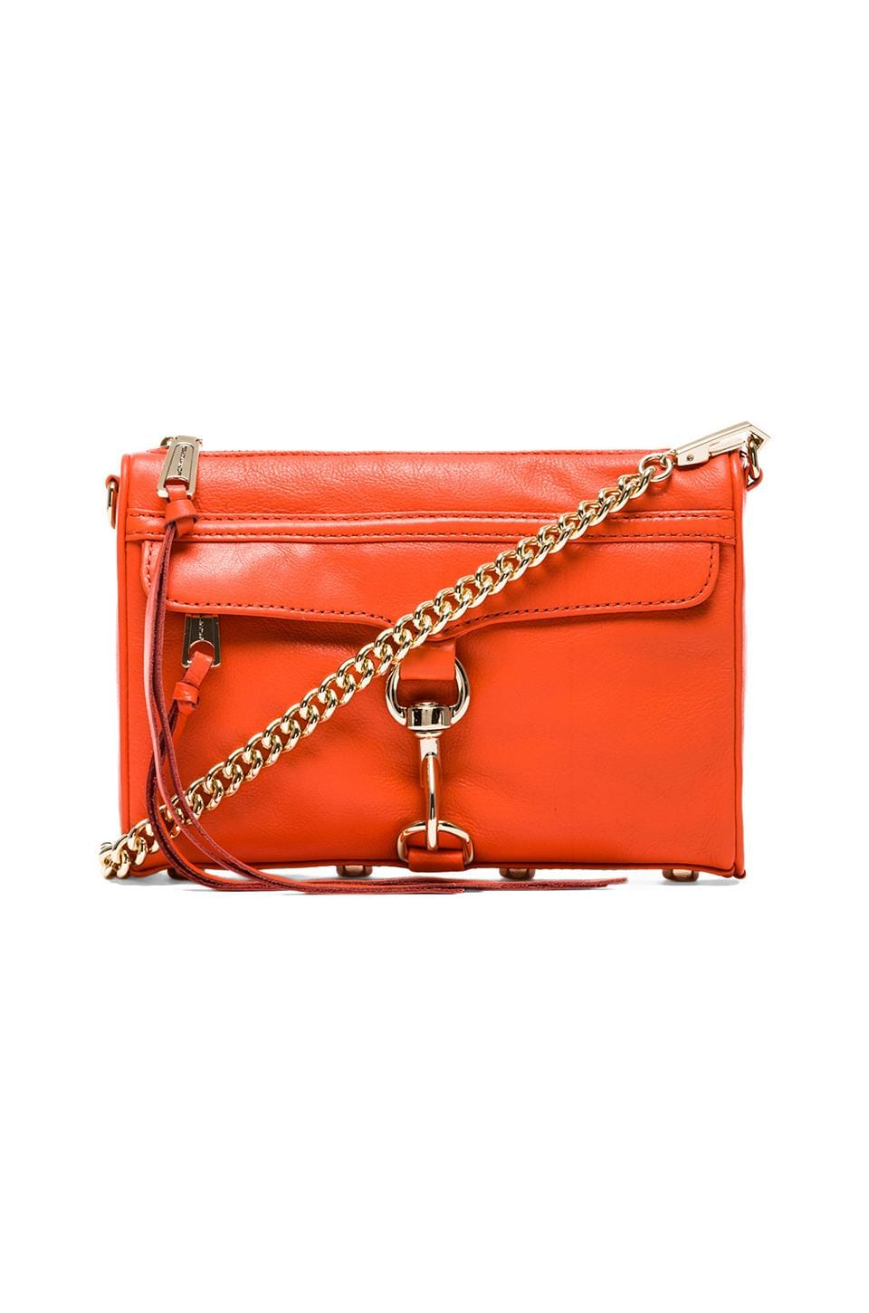 Rebecca Minkoff Mini MAC in Orangina