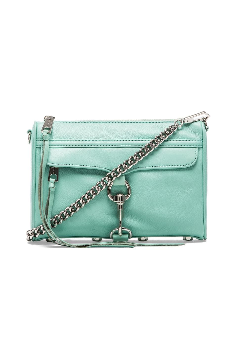 Rebecca Minkoff Mini MAC in Minty