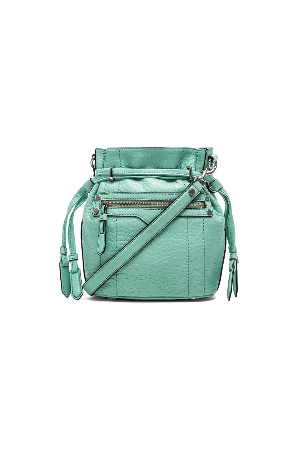 Rebecca Minkoff Mini Harley Bucket in Minty