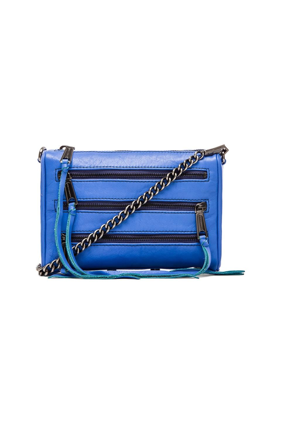 Rebecca Minkoff Mini 5 Zip in Twilight Sky