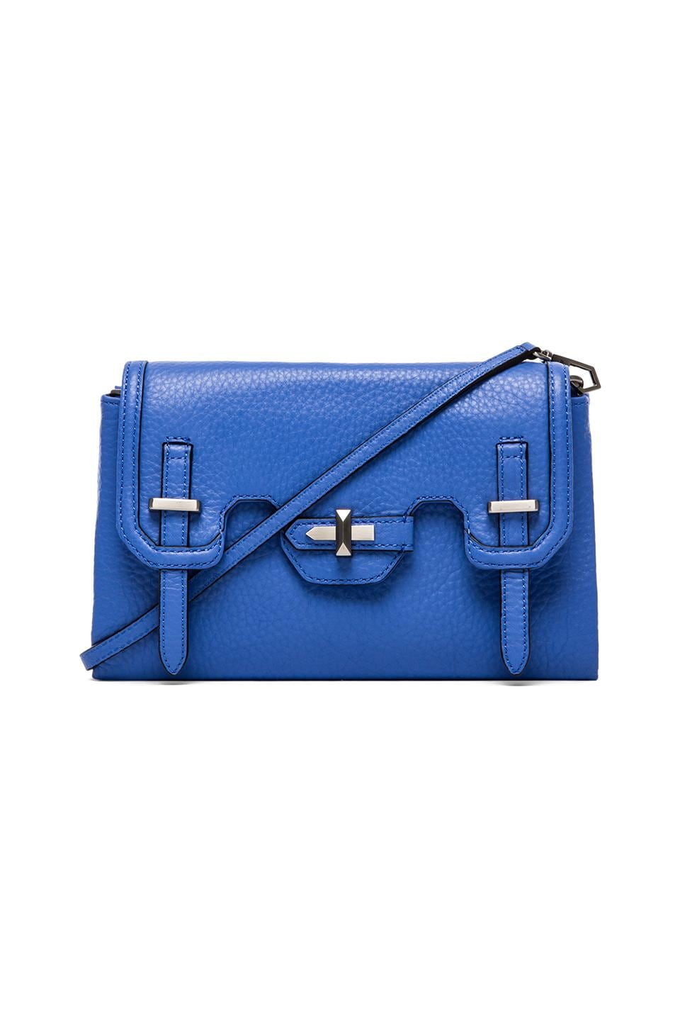 Rebecca Minkoff Mini Jules Clutch in Twilight Sky
