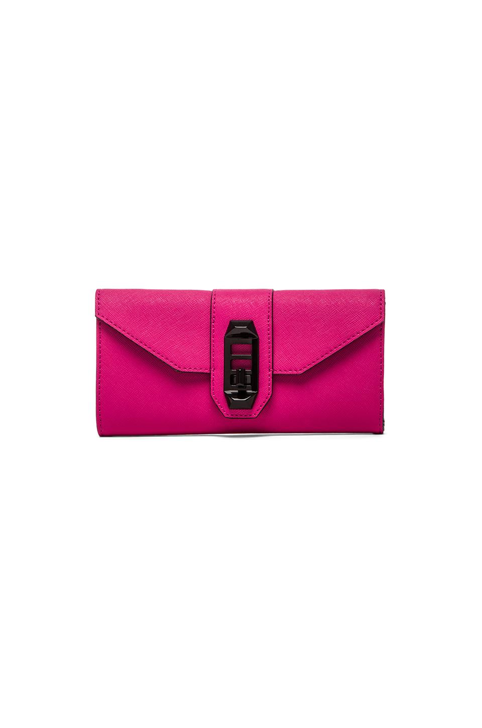 Rebecca Minkoff Mason Wallet in Hot Pink