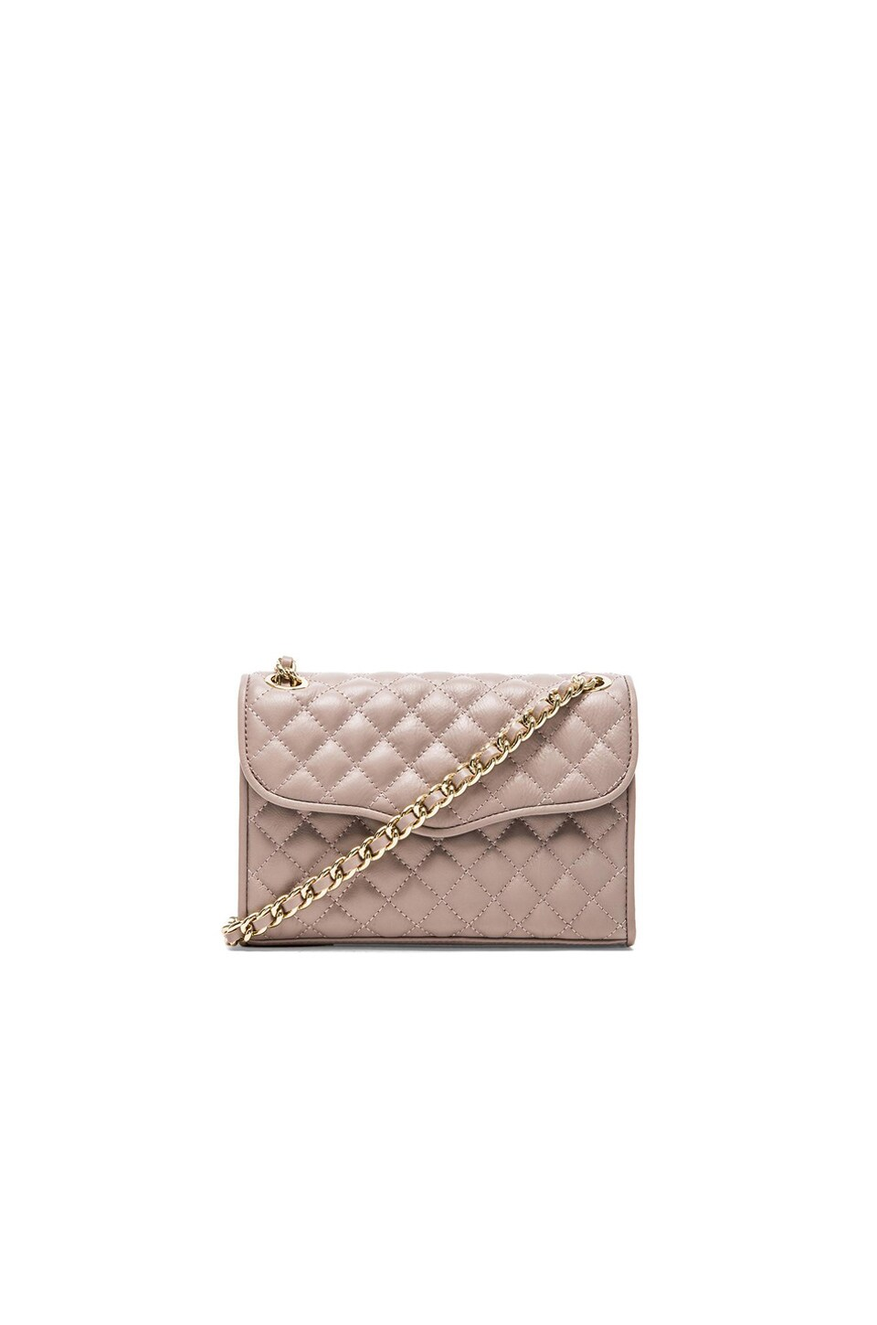 Rebecca Minkoff Quilted Mini Affair in Tortora