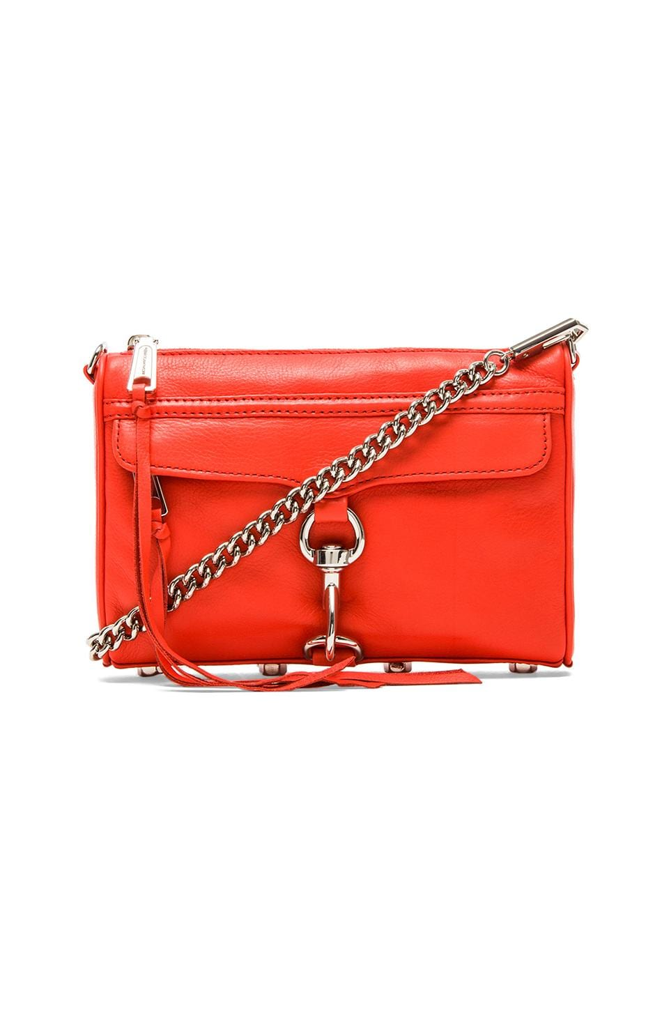 Rebecca Minkoff Mini MAC in Blood Orange