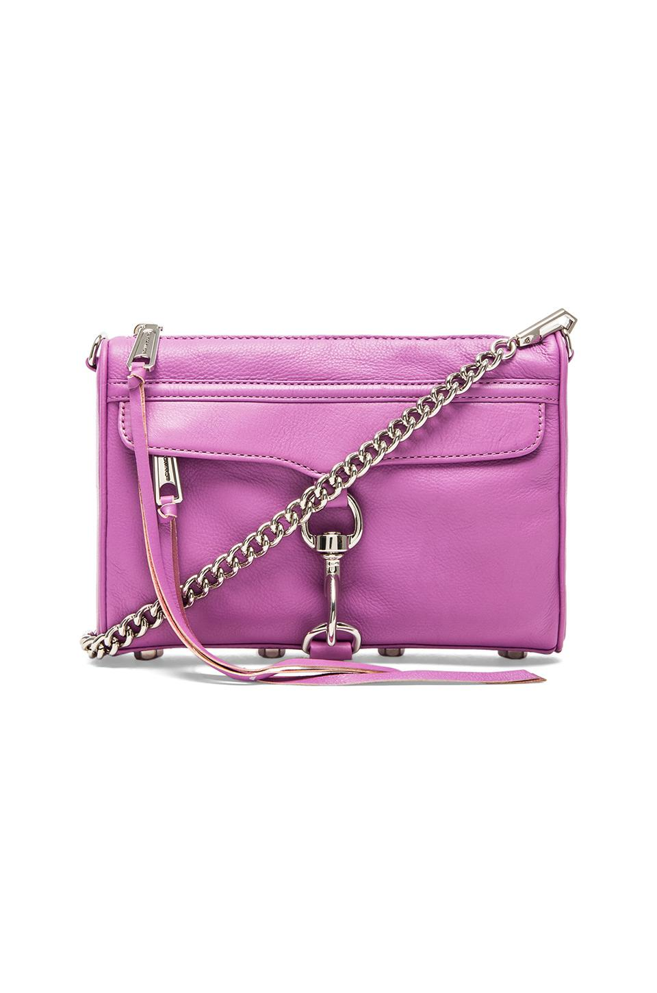 Rebecca Minkoff Mini MAC in Grape