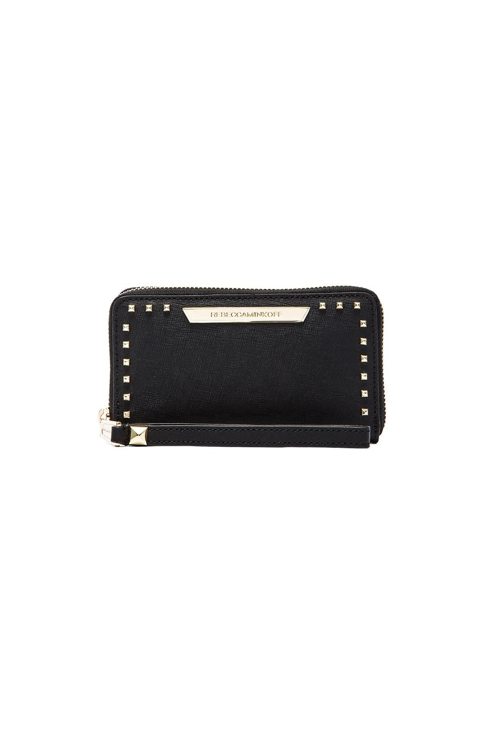 Rebecca Minkoff Olivia Tech Wallet in Black