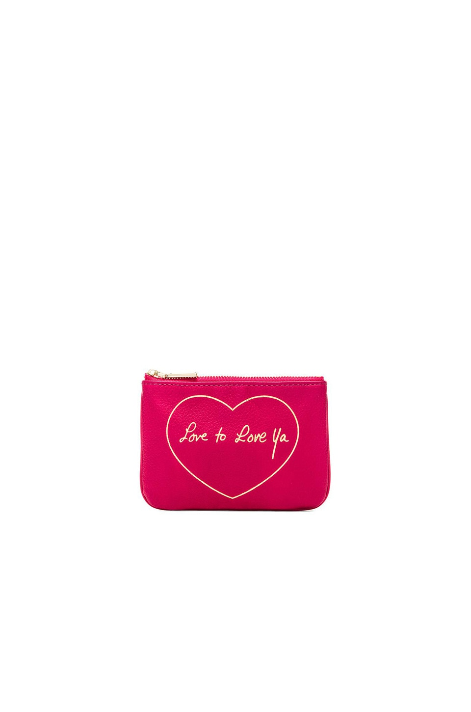 Rebecca Minkoff Love to Love Ya Cory Pouch in Zest