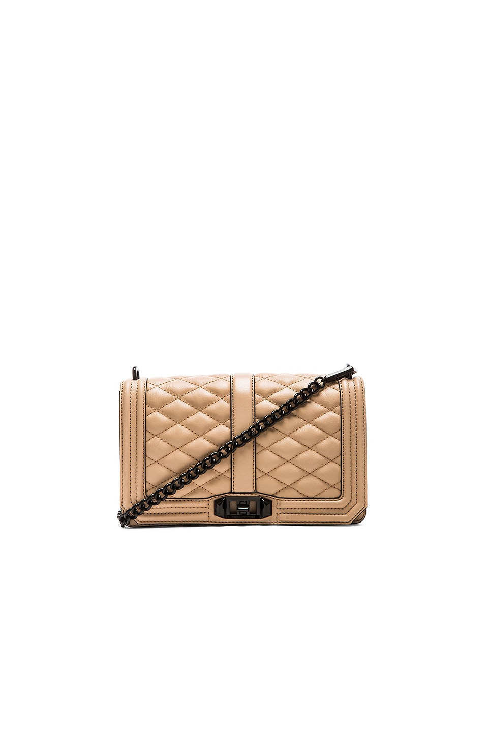 Rebecca Minkoff Love Crossbody in Latte