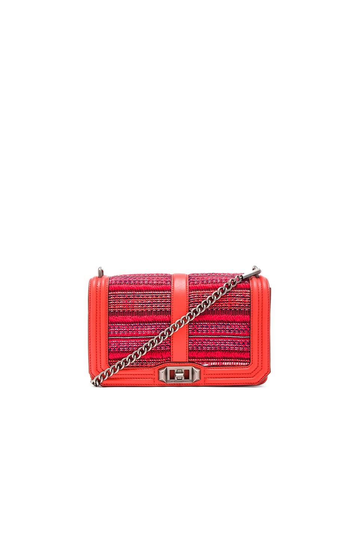 Rebecca Minkoff Love Crossbody Bag in Poppy Red Multi