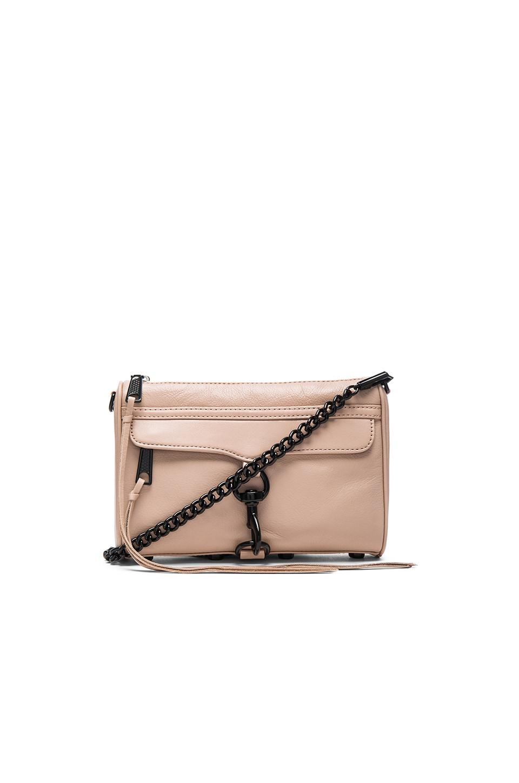 Rebecca Minkoff Mini Mac Crossbody Bag in Latte