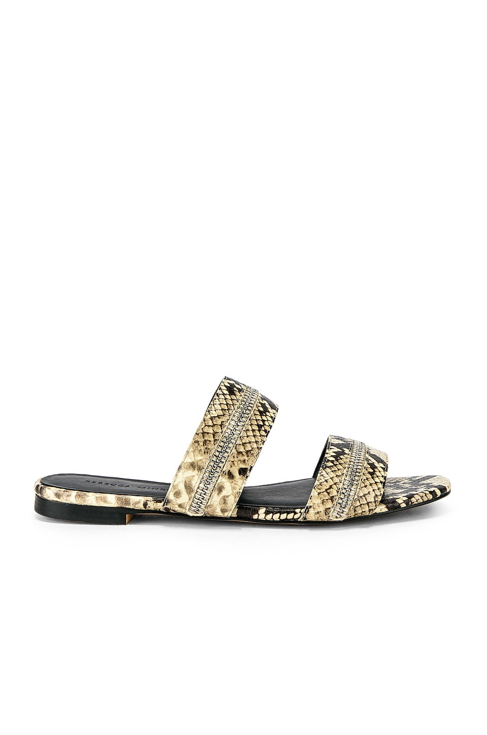 Rebecca Minkoff Marciann Slide in Butter Exotic