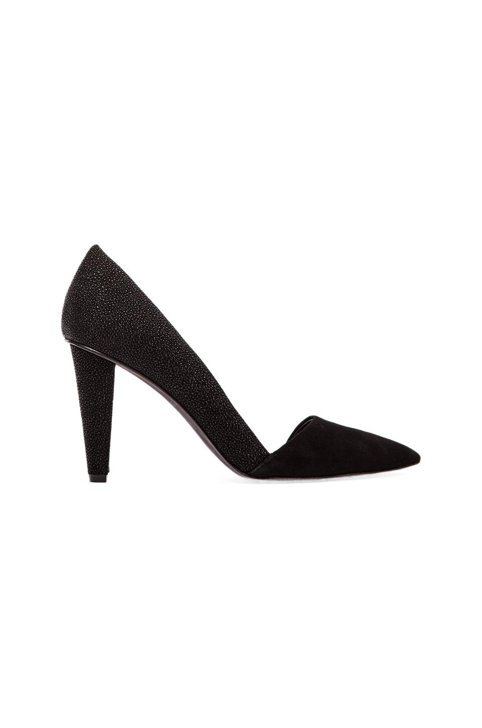 Rebecca Minkoff Abel Stingray Print Heel in Black