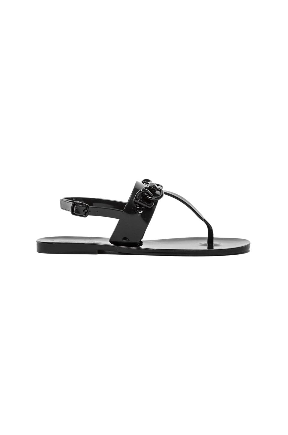 Rebecca Minkoff Sava Sandal in Black Jelly