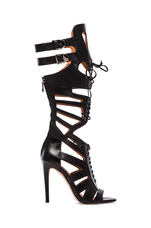 Rebecca Minkoff Rita Gladiator Sandal in Black