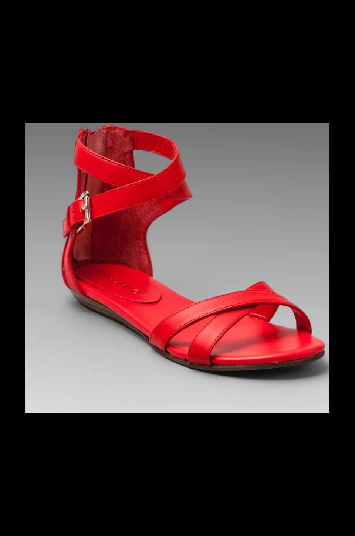 Rebecca Minkoff Bettina Sandal in Hot Red