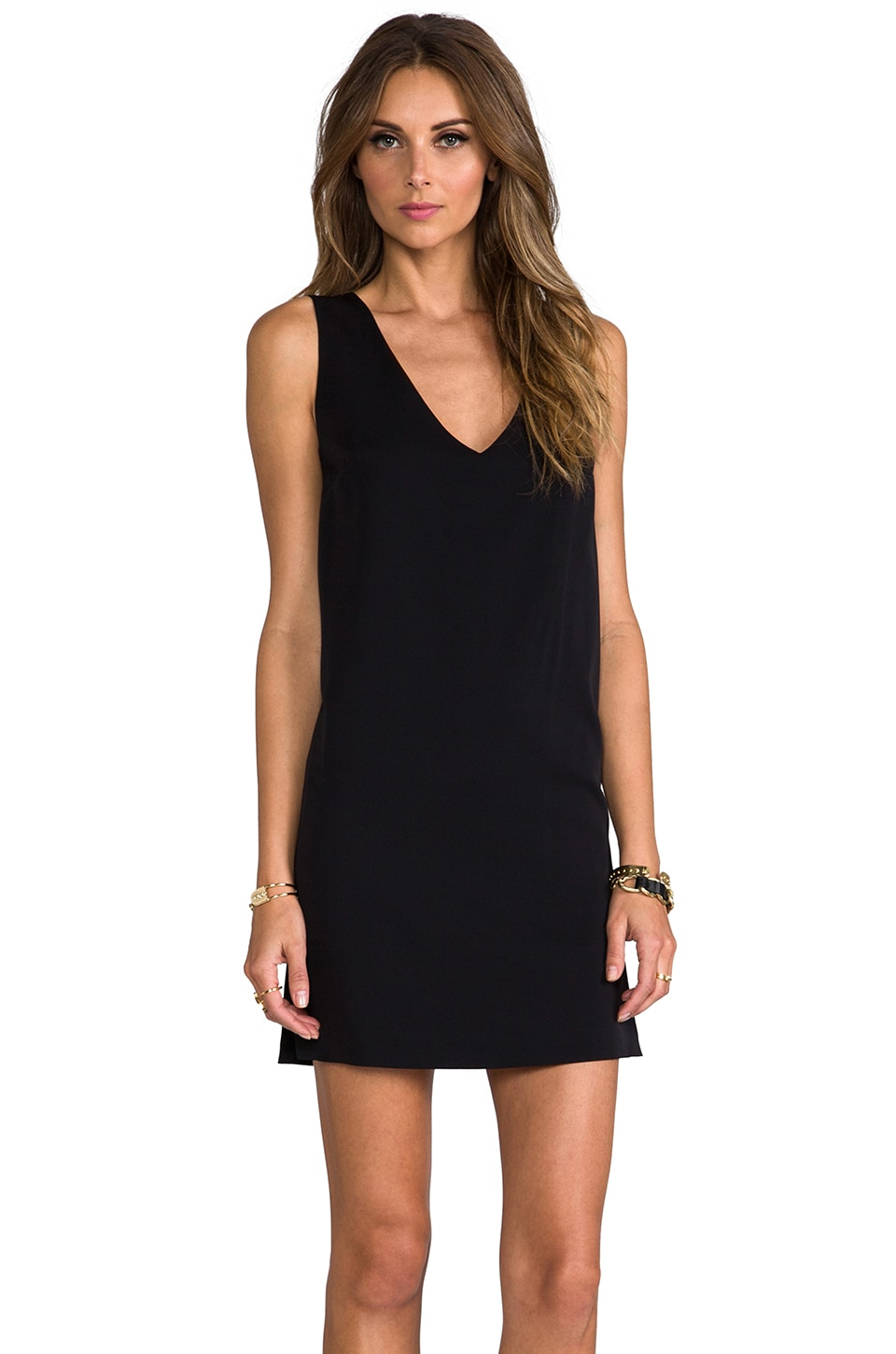 Robert Rodriguez Mini Dress in Black