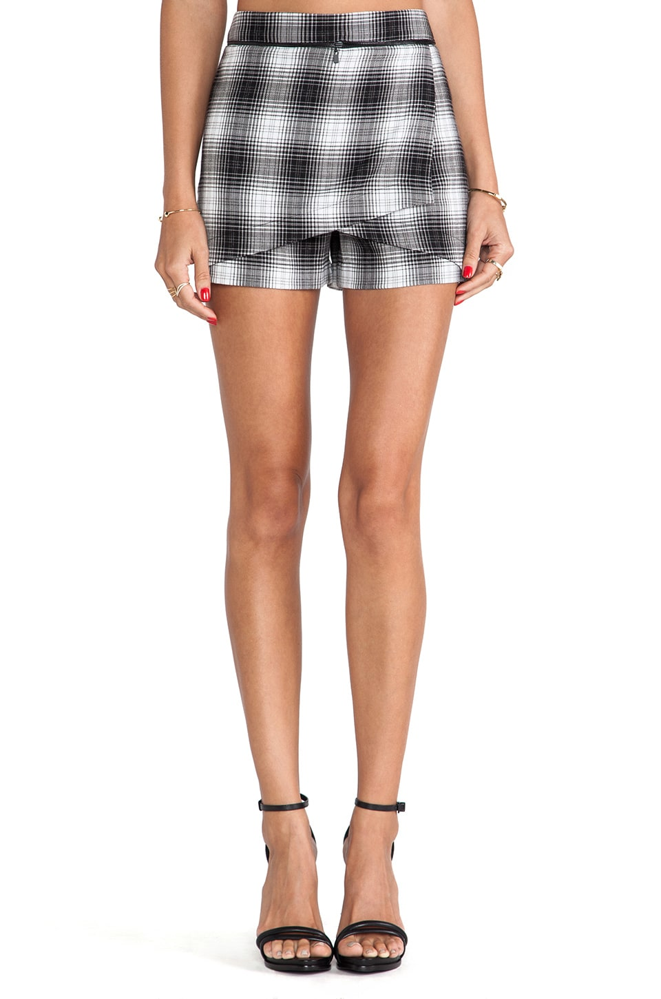Robert Rodriguez Wrap Shorts in Plaid
