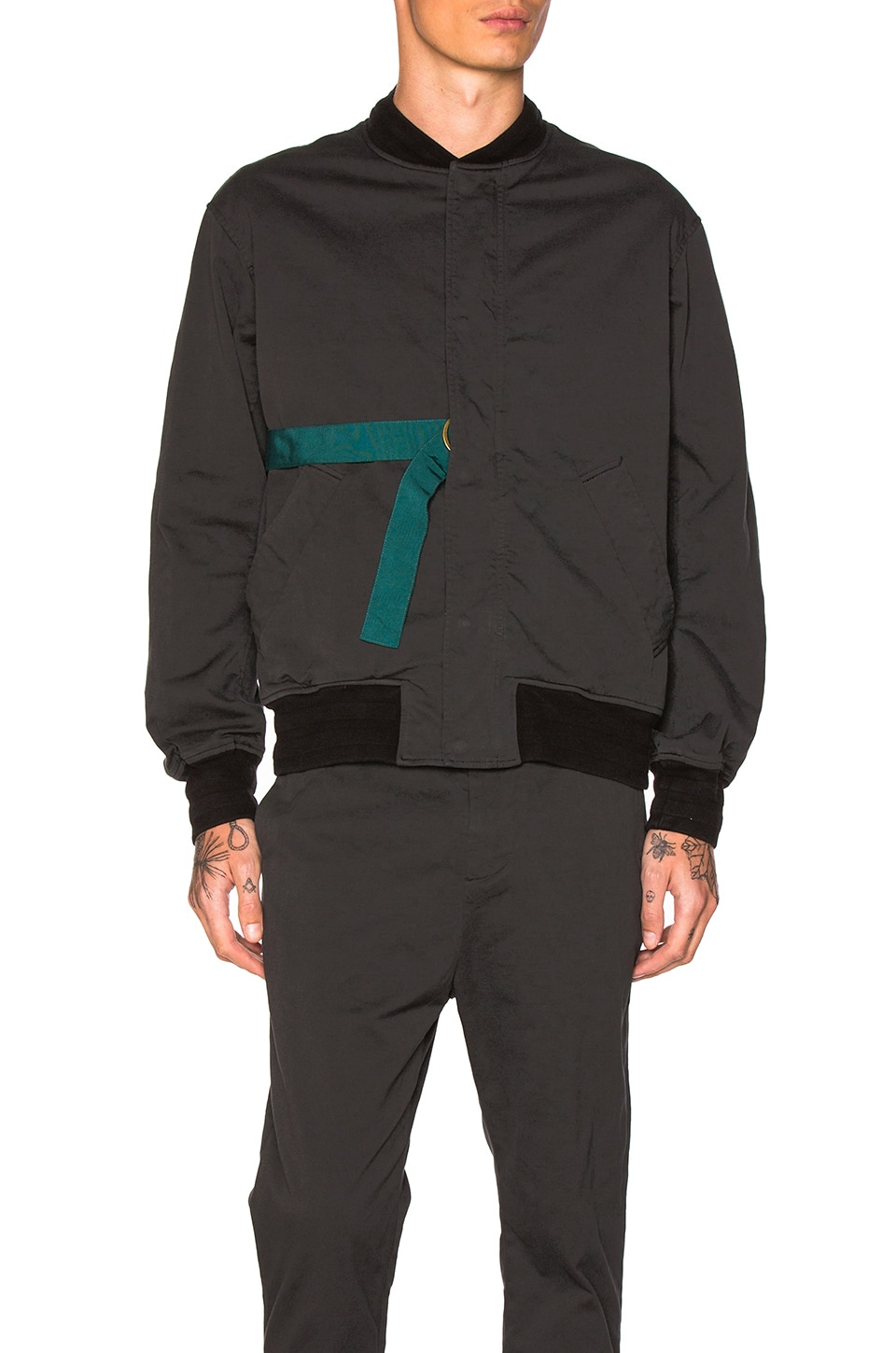 9fd63471f Robert Geller Jan Bomber in Black | REVOLVE