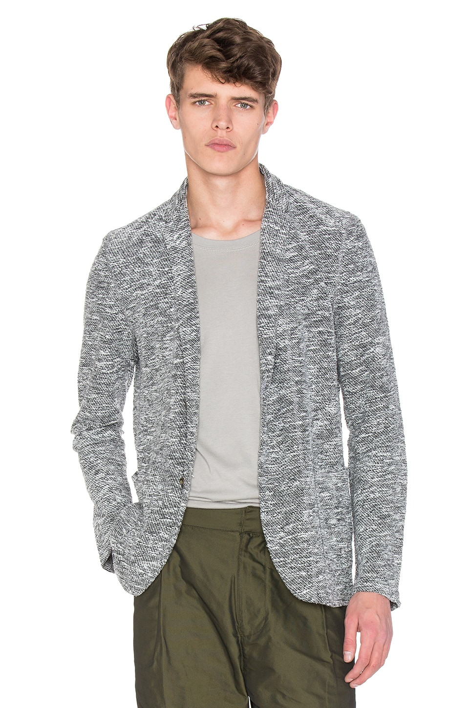 76da1684a Robert Geller Richard Jacket in Grey | REVOLVE