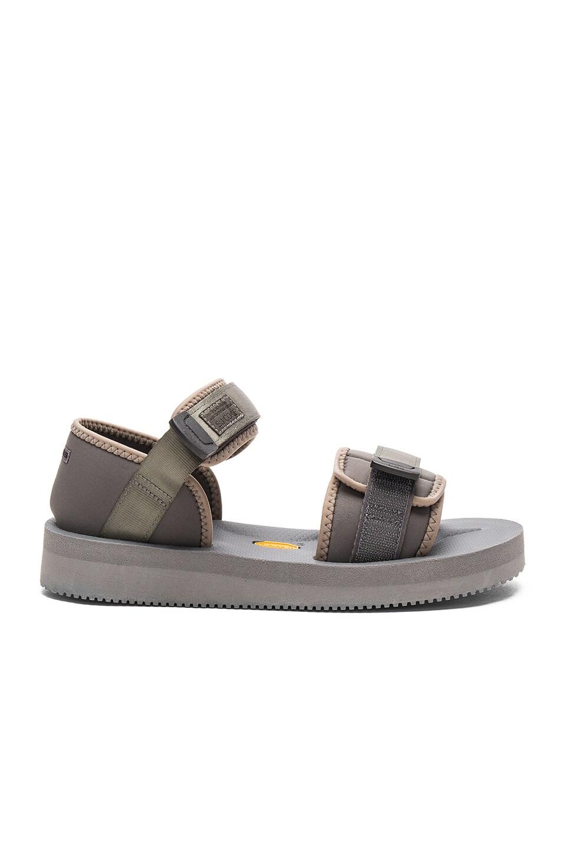 Robert Geller x Suicoke Sandal in Grey