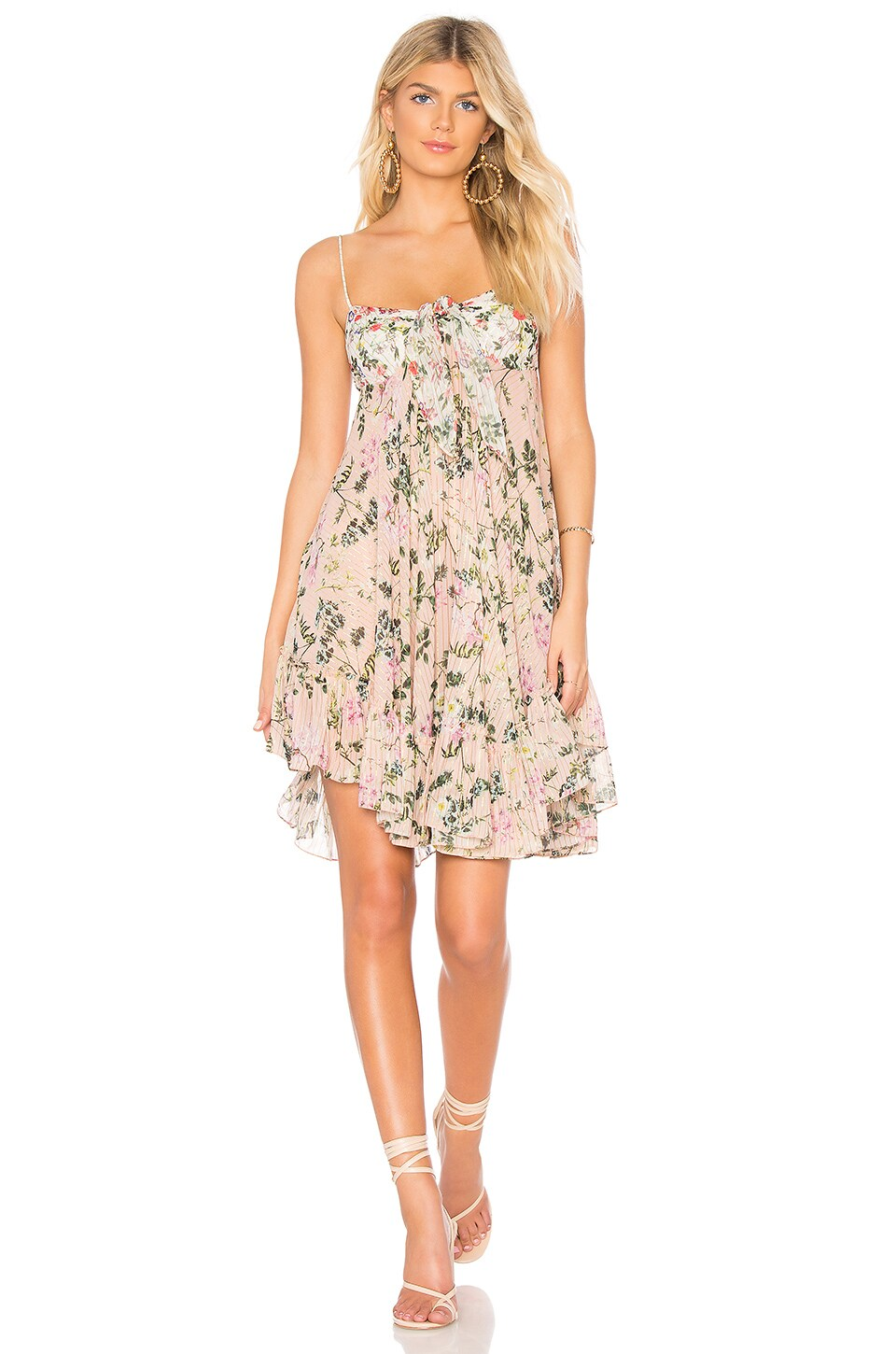 ROCOCO SAND x REVOLVE Flora Mini Dress in Pink & White